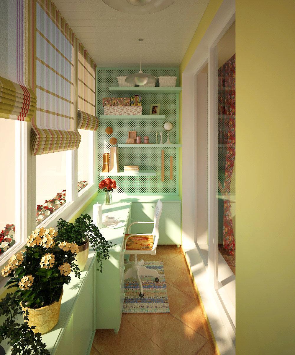 Дизайн лоджии, балкона. творческая мастерская freshworkshop.