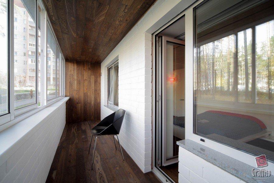 Дизайн балкона в стиле лофт: 15 фото интерьера.