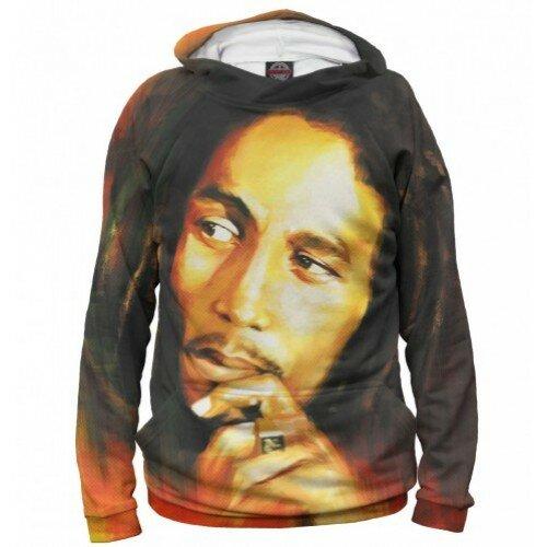 Мужская толстовка 3D Bob Marley