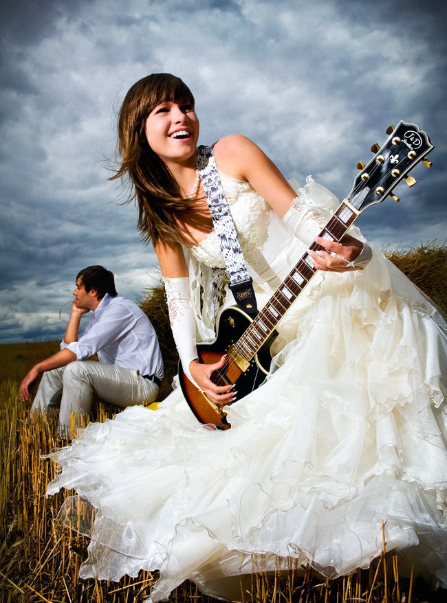 Невесты с гитарами картинки, можно