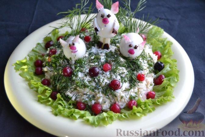 Салат для детей на День рождения - пошаговый рецепт с фото на Повар.ру