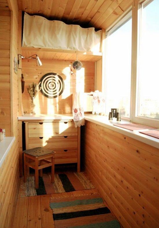 """Кухня на балконе в скандинавском стиле"""" - карточка пользоват."""