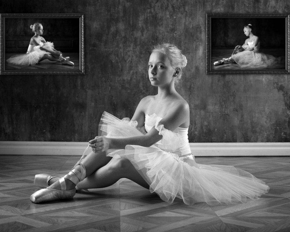 фото молодая балерина свой дом
