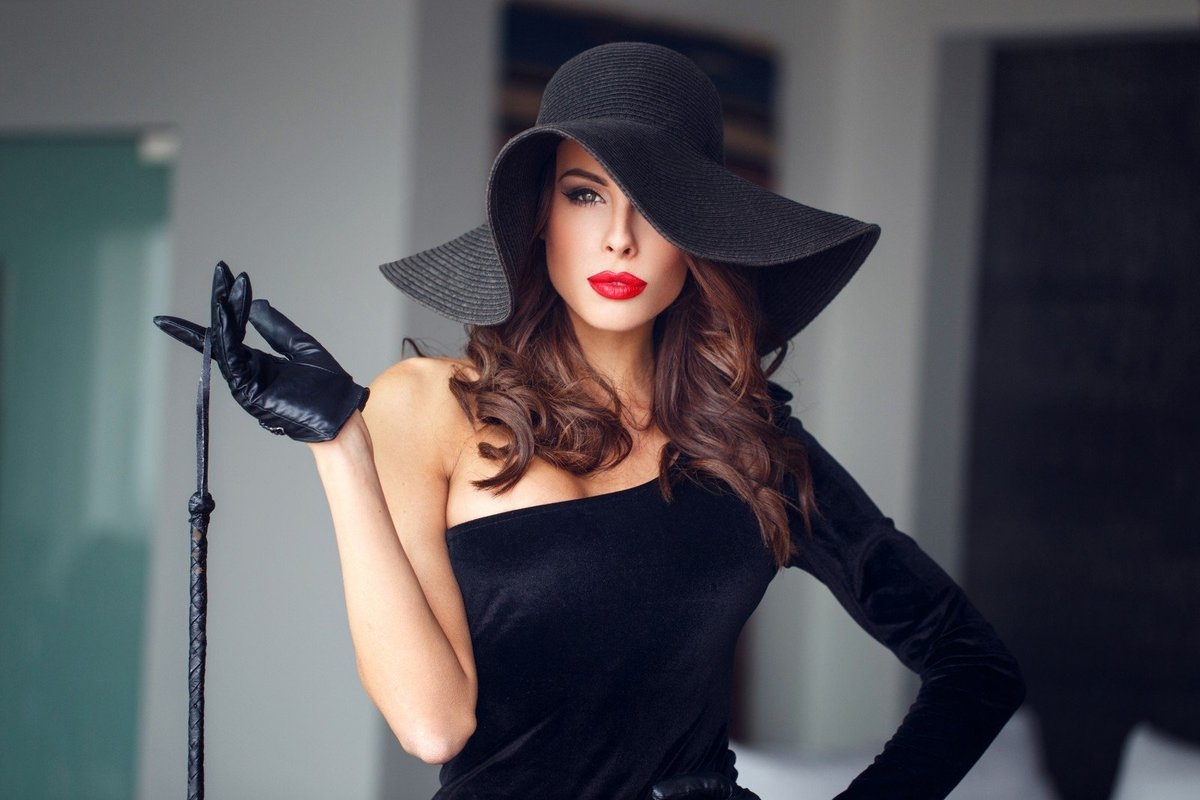 Фотосъемки в шляпе