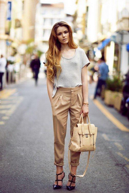 В картинках как стильно одеваться