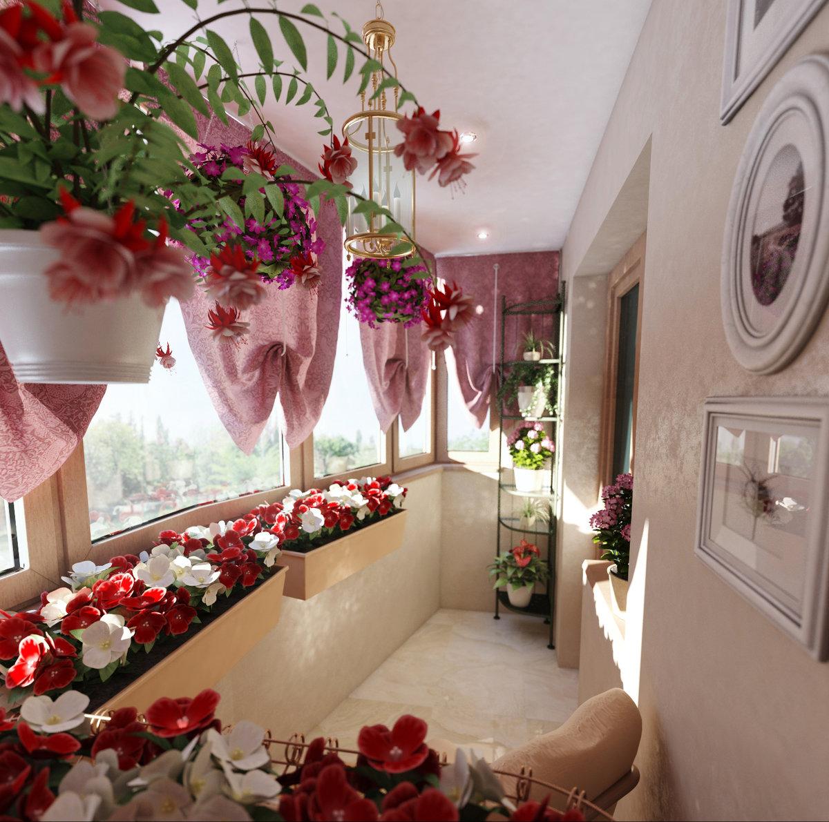 """Красивый дизайн комнаты с цветами"""" - карточка пользователя t."""