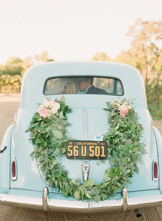 Фото в стиле рустик украшение для машины