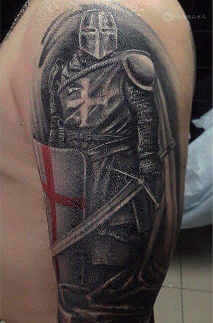 прослушивание что означает тату крестоносец искусство