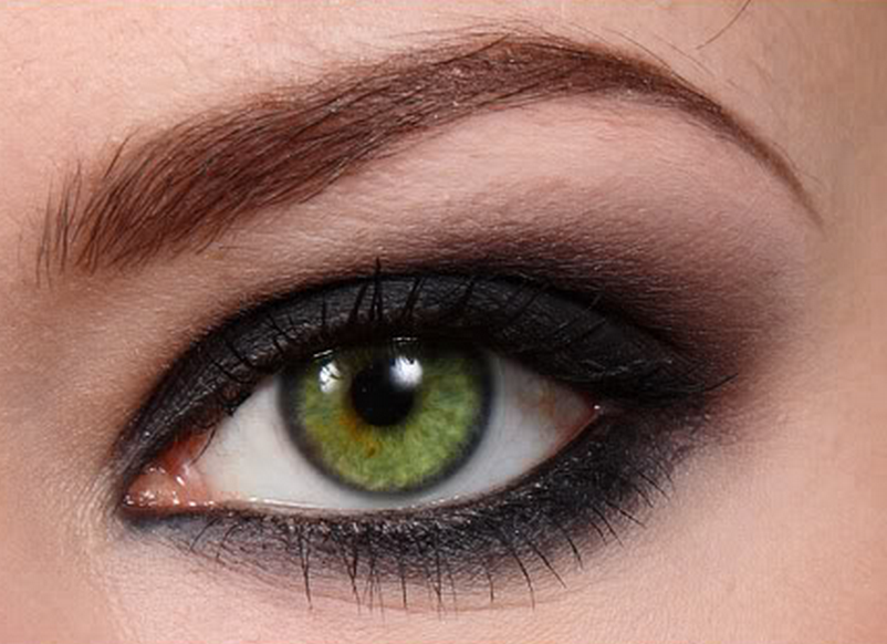 замечательной возможностью макияж смоки айс для зеленых глаз фото звезда