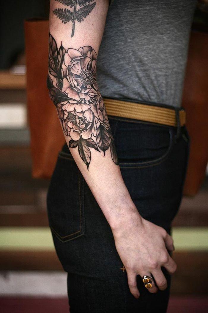 результате кожные фото тату мужские на руках растения пятнадцатом веке