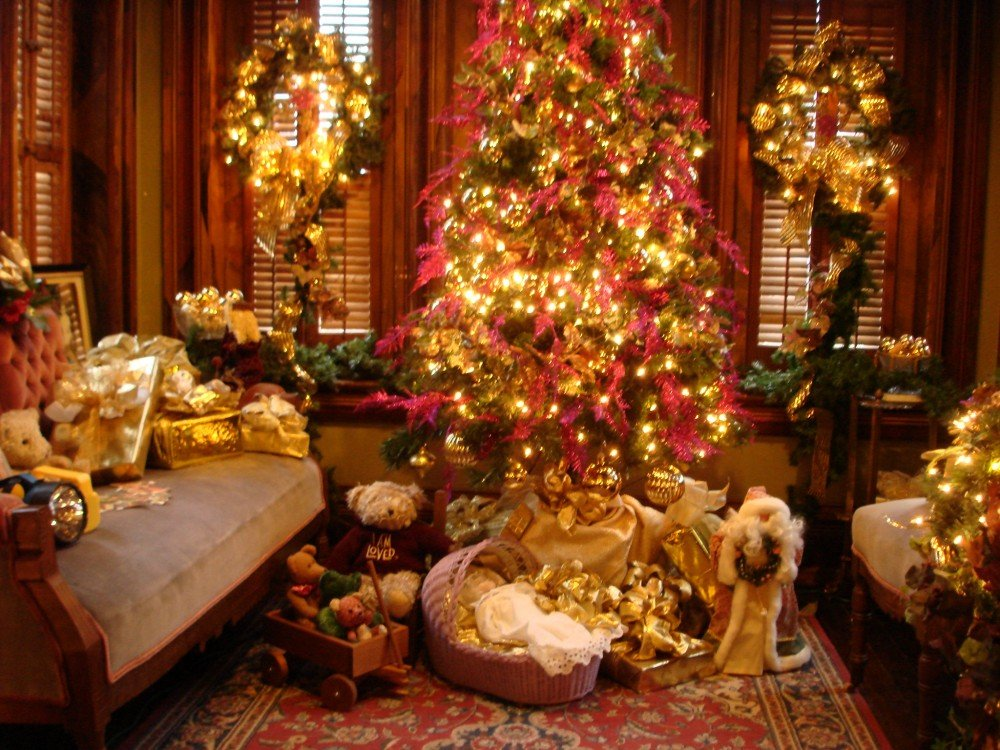 Утро солнышко, рождественские картинки американские