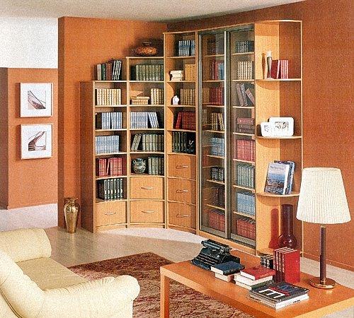 Книжный шкаф своими руками: схемы, чертежи и советы по монта.