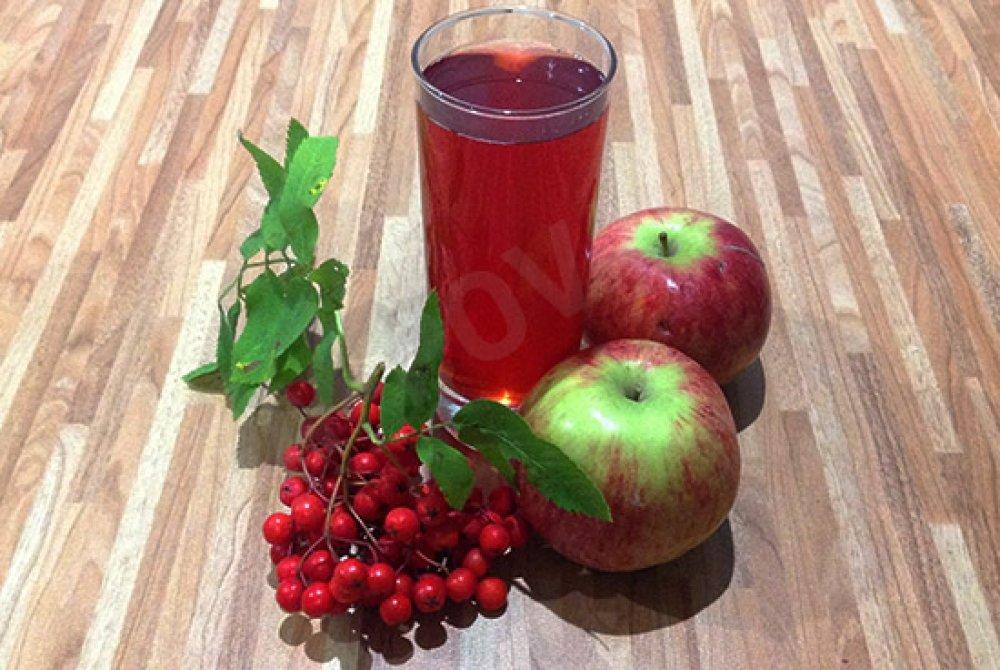 Картинки по запросу Рябиново-яблочный компот: