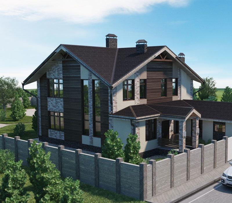 дачу, дом двухэтажные дома проекты с отдельным гаражом детьми можно