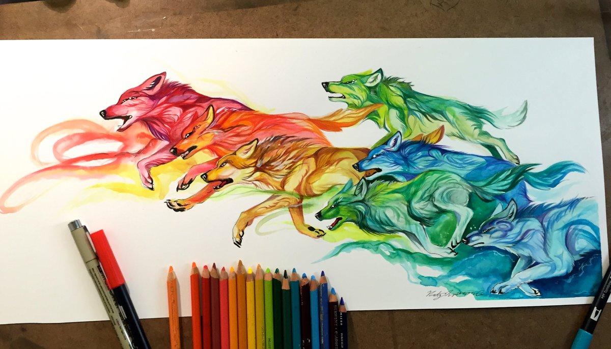 картинки рисовать фломастерами и карандашами породы кошек названиями