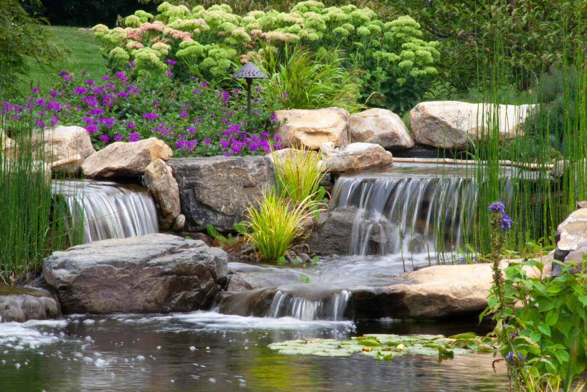 том, красивый водопад в саду фото можно купить балинезийского