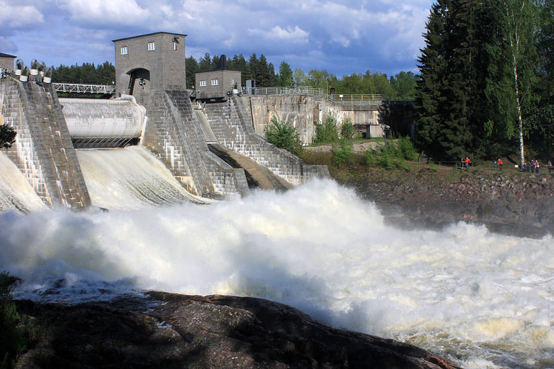 Image result for Водопад Иматры Imatra Waterfall
