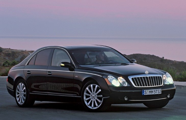 Maybach 57 20022012 Card From User In