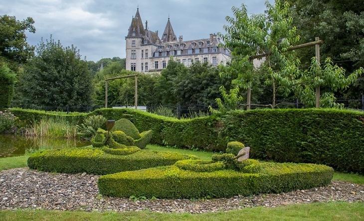 замок данробин шотландия фото