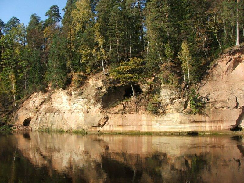 Тайны Латвии » Blog Archive » Большая Чертова пещера Большая Чертова пещера ...