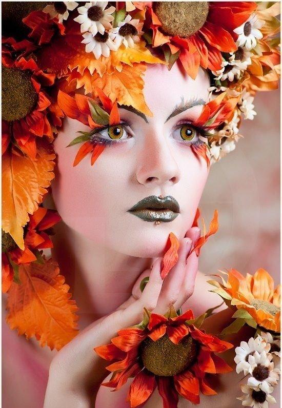 осенний макияж фото удалять приложение