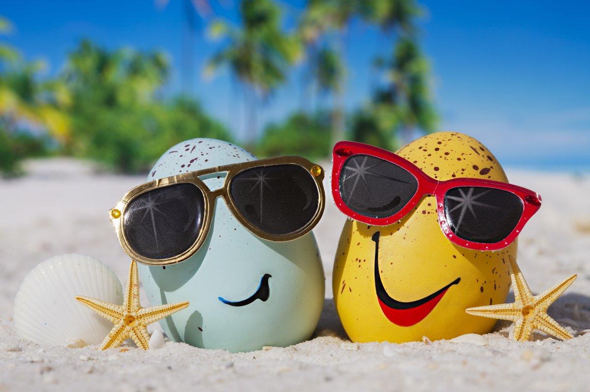 Открытки, смешные картинки про лето и отпуск