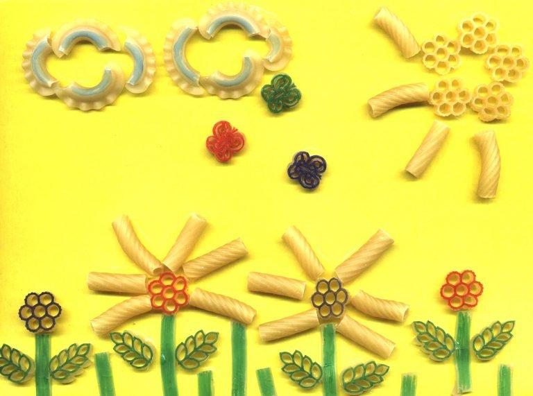 Прикольные, открытка с макаронами своими руками