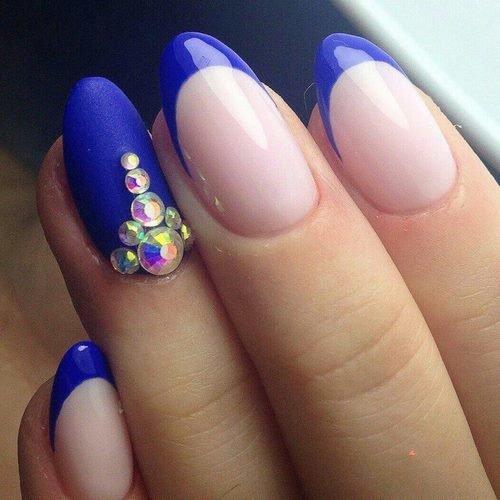 Рисунок Цветы На Ногтях На Белом