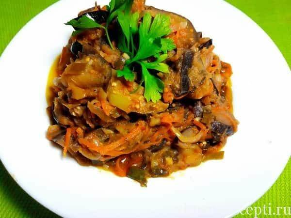 Пошаговые фото рецепты овощного соте