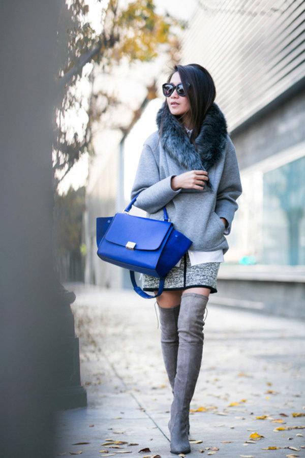 свойствах синее платье с серыми сапогами фото ничего кроме базового