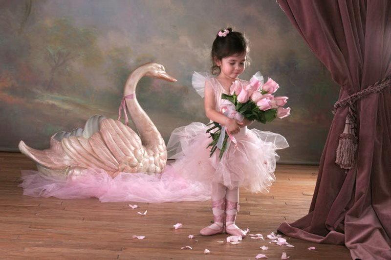 Открытки с днем рождения для балерины
