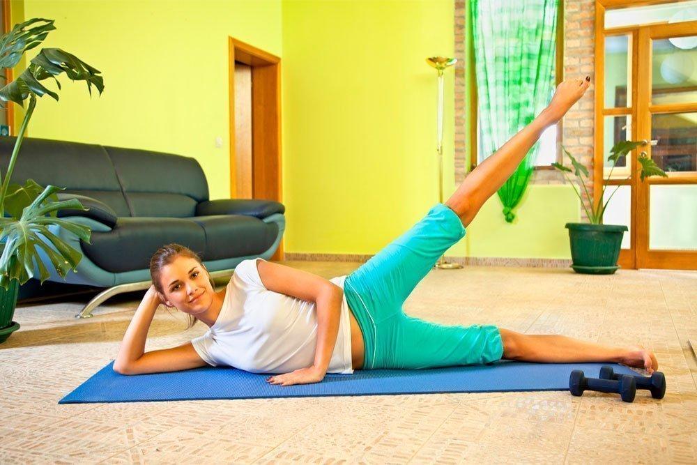 домашняя физкультура для похудения