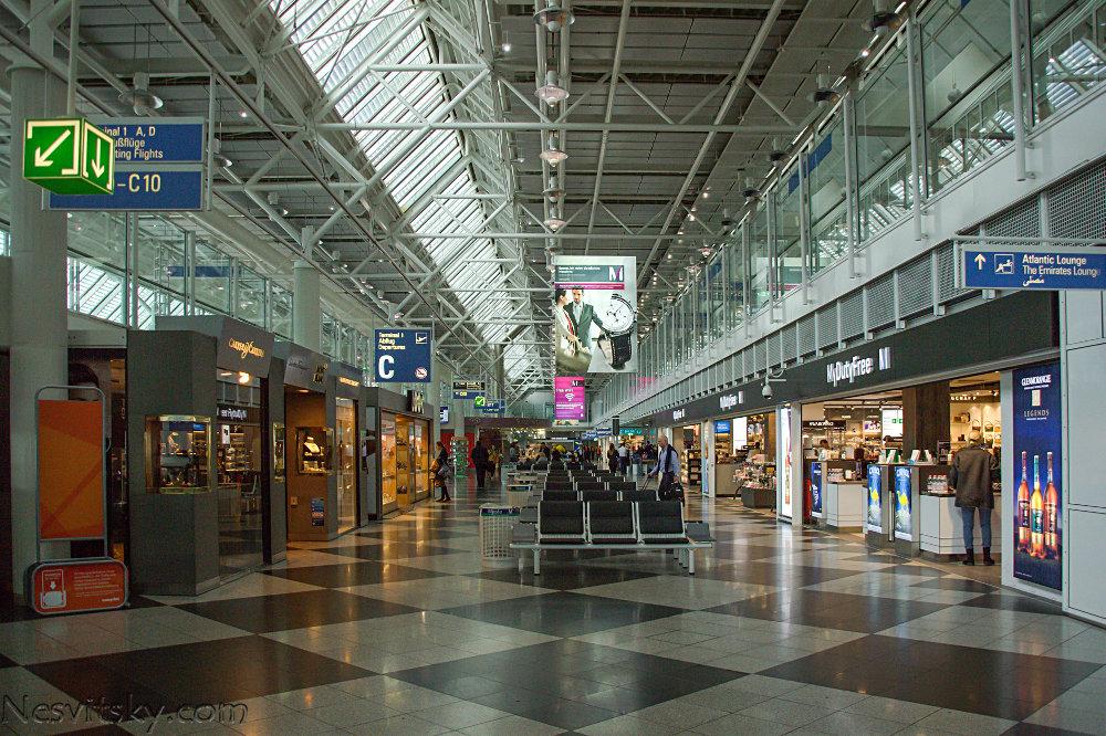 Аэропорт Мюнхен транзитная зона фото