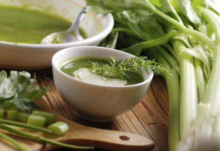 суп из сельдерея стеблевого для похудения