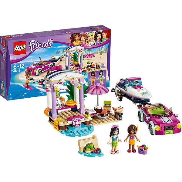 LEGO Friends 41316: Скоростной катер Андреа и другие товары для детей в интернет-магазине myТoys.ru. Быстро и недорого с доставкой по всей России.