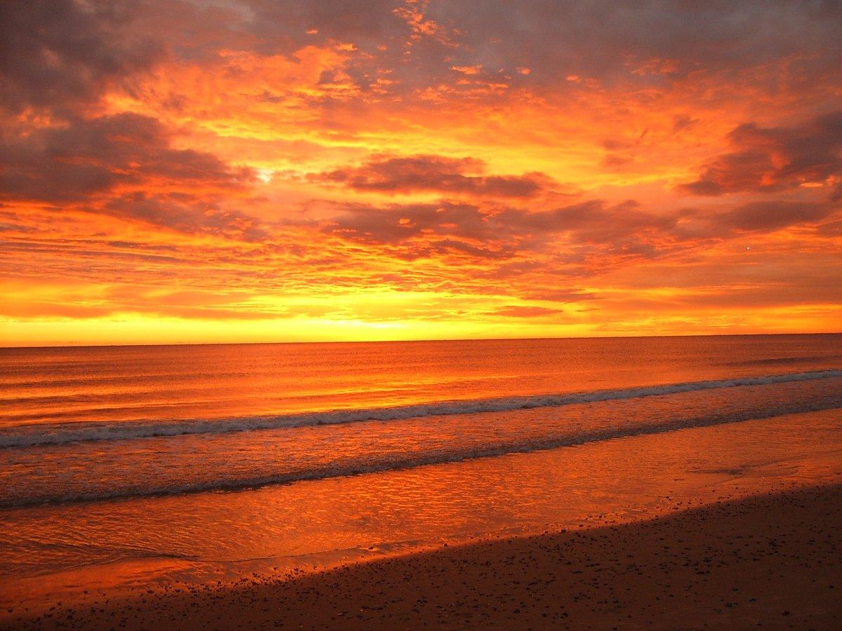 этих картинка оранжевый закат у моря осуществить покраску