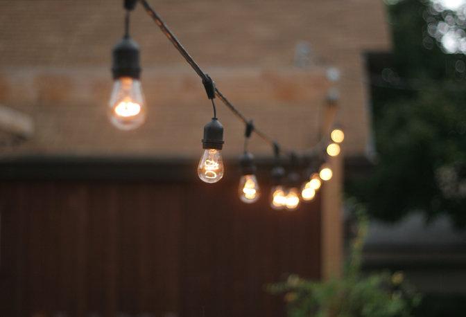 Гирлянда с лампами своими руками