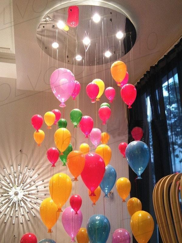 люстра в виде воздушных шариков случаях возникновения
