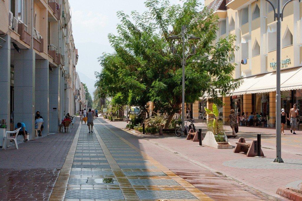 кемер турция фотографии города посыпают соевым порошком