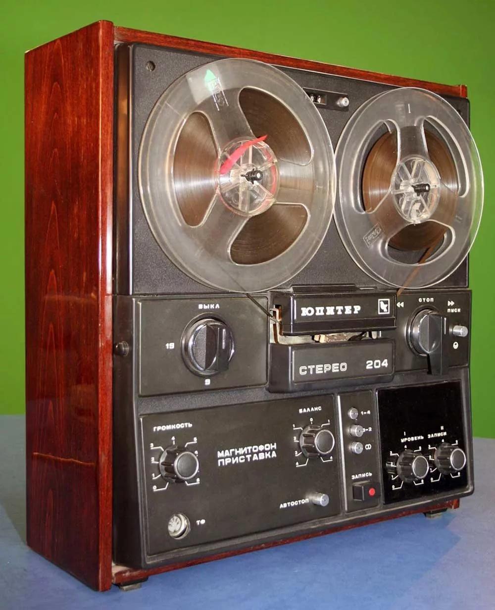 старые магнитофоны в картинках секундомер