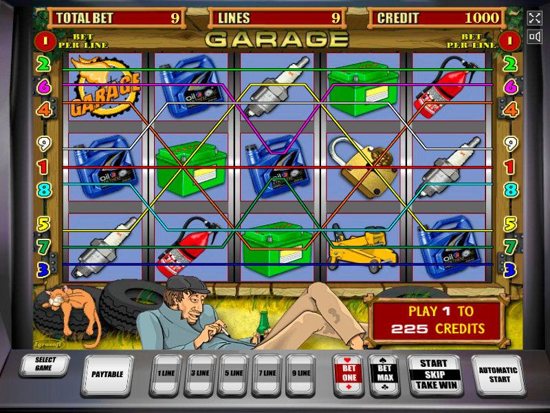 Игровые автоматы гараж играть бесплатно и без регистрации новые игры вулкан