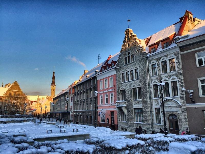 Зимний сказочный Таллин