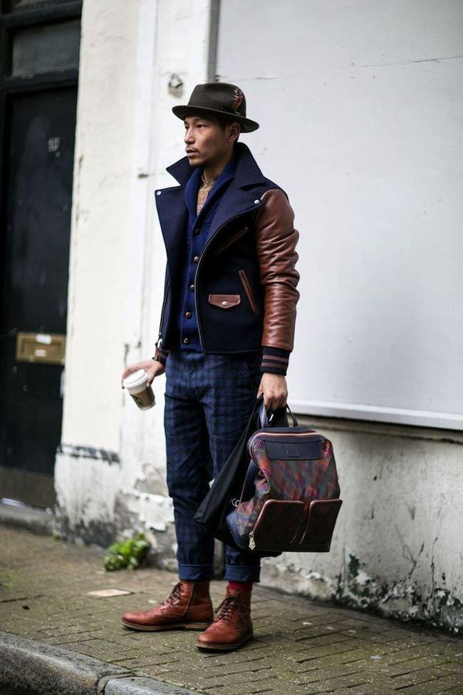 фото стильных мужчин в куртках