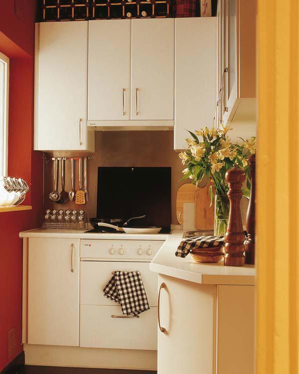 """Оранжевый цвет в интерьере кухни"""" - карточка пользователя sa."""