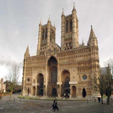собор в линкольне англия