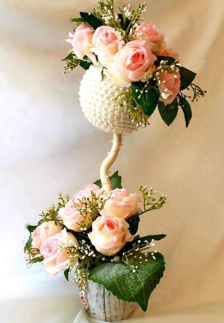 цветочный топиарий фото хочу поделиться