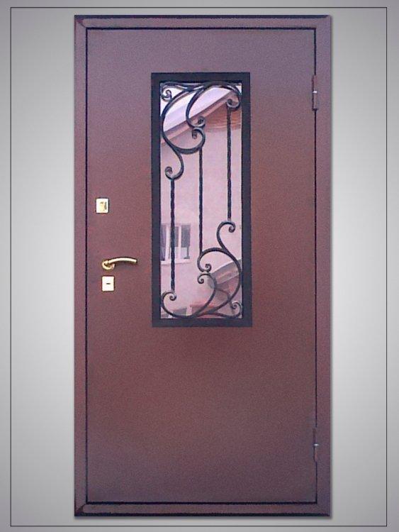 Двери коридорные металлические дешево