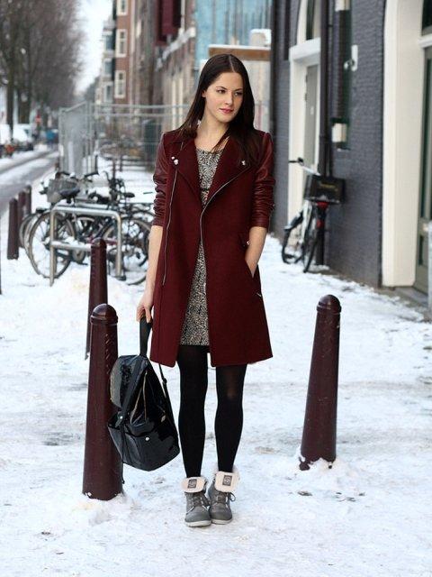 046c936b7041 С чем можно носить рюкзак, фото и советы подскажут. Зимой или летом ...