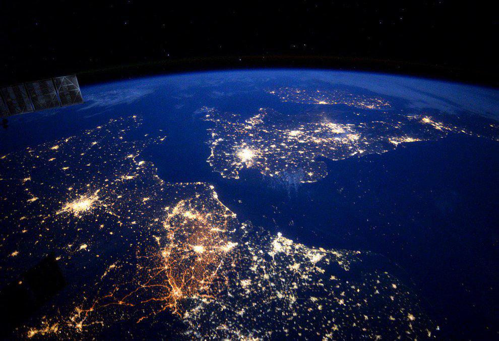 фото мира из космоса увеличивая размер подгиба