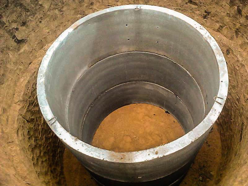 установка колец для канализации цена
